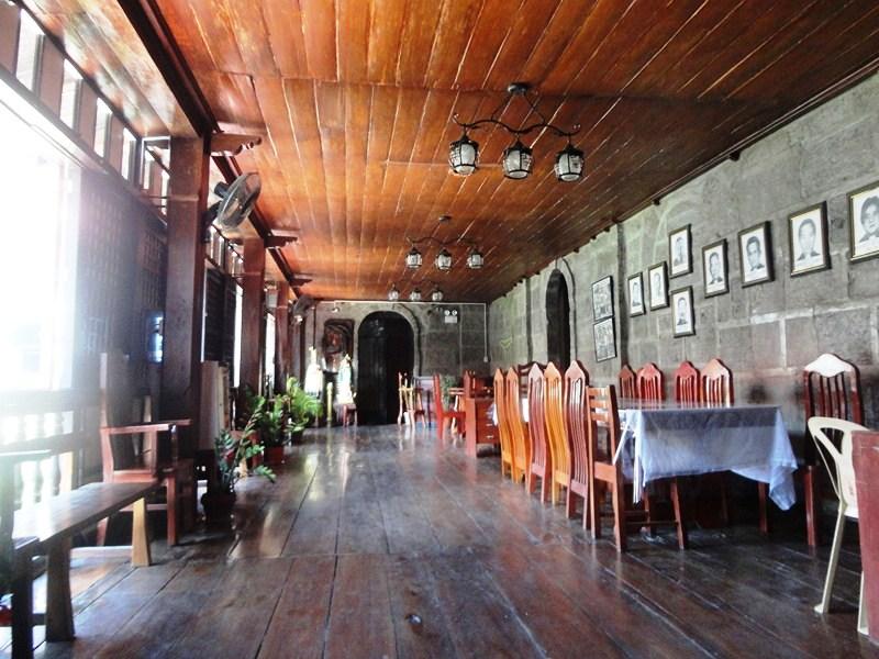 The convent interior