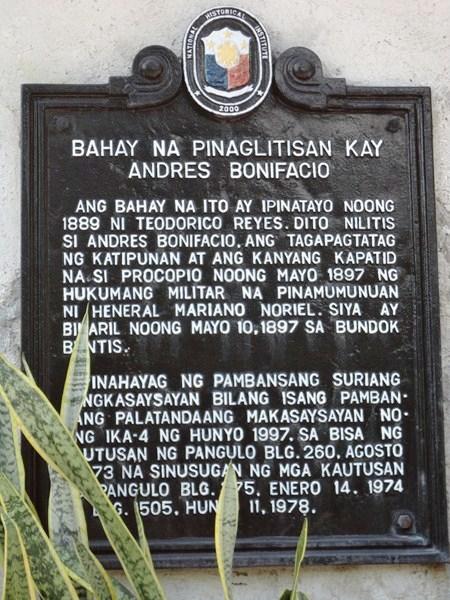 the trial and execution of bonifacio