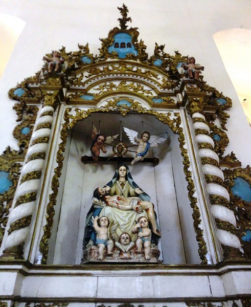 Retablo dedicated to Our Lady of Anguish