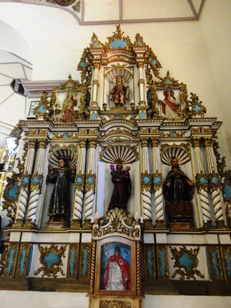 Retablo dedicated to St. Joseph