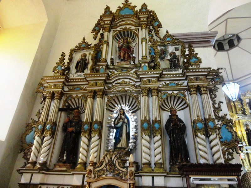 Retablo dedicated to the Immaculate Conception